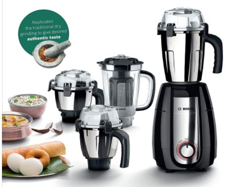 bosch heavy duty juicer and mixer grinder in india